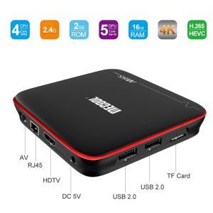 ТВ приставка Mecool M8S Pro W S905W 2/16Гб