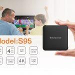 ТВ приставка Alfawise S95 S905W 2/16 Гб