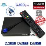 ТВ приставка Magicsee C300 Pro DVB S2+T2/C S912 2/16Гб