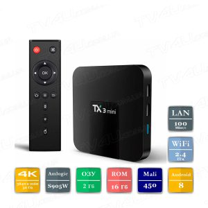 Tanix TX3 mini 2/16 Гб Smart TV Box ТВ приставка