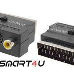 Перехідник адаптер 3 x RCA SCART