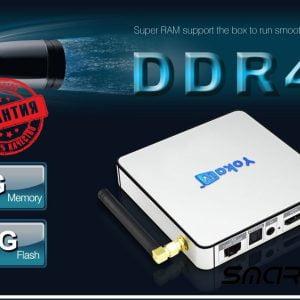 ТВ приставка Yoka TV KB2 PRO S912 DDR4 3/32 Гб