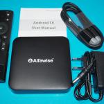 ТВ приставка Alfawise Z1 TV Voice S912 3/32 DDR4 Smart Box Android TV