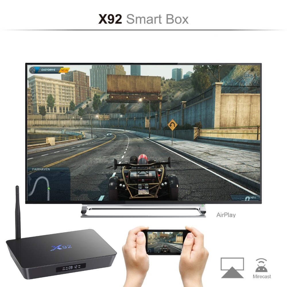 X92 3/32 Гб Smart TV Box ТВ приставка
