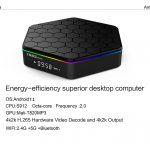 Sunvell T95Z Plus 2/16 Гб Smart TV Box ТВ приставка