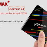 ТВ приставка H96 Max+ Smart TV Box 4/64 Гб