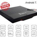 ТВ приставка Mecool KM8 P 2/16 Гб Smart TV Box