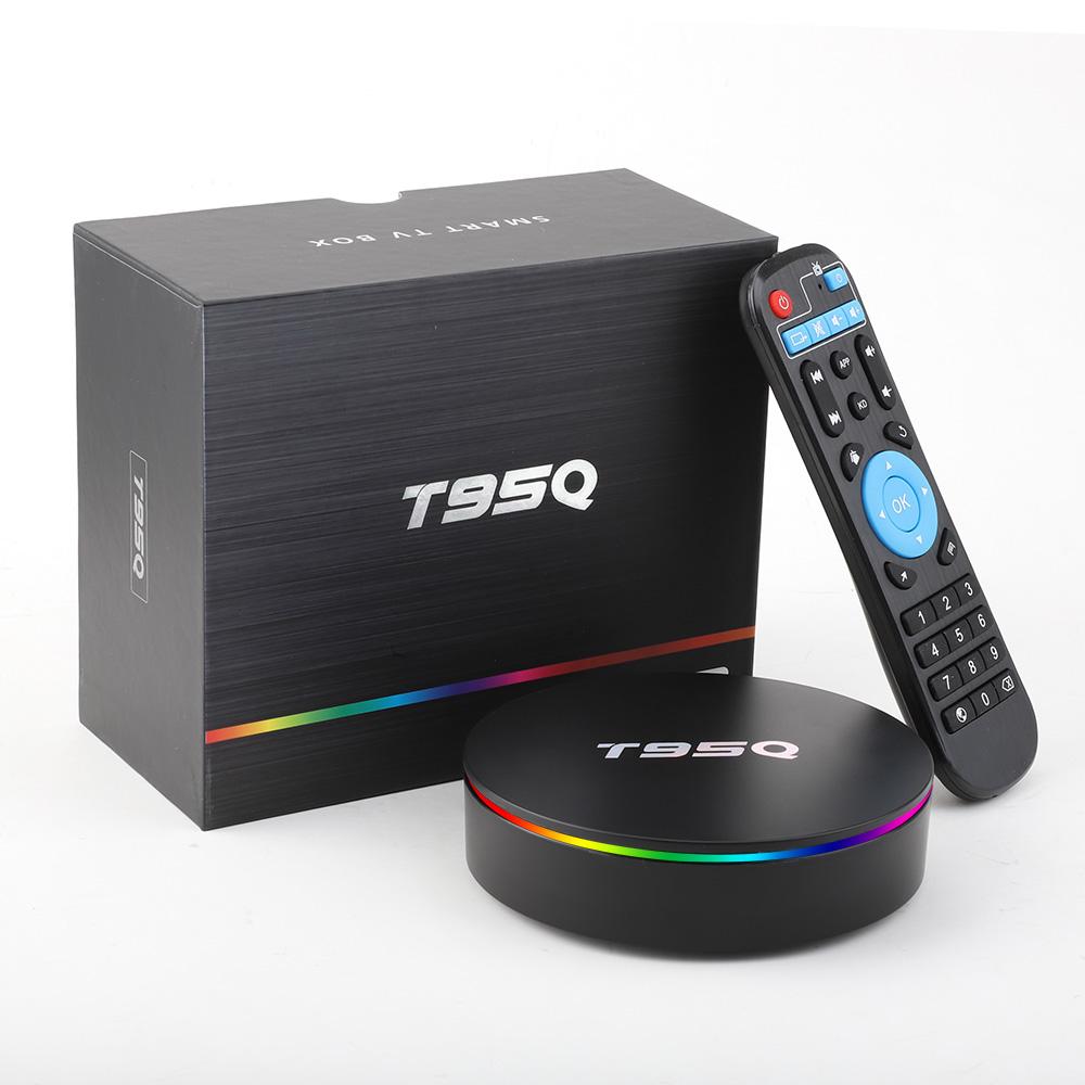 Vontar T95Q 4/64 Гб Smart TV Box ТВ приставка