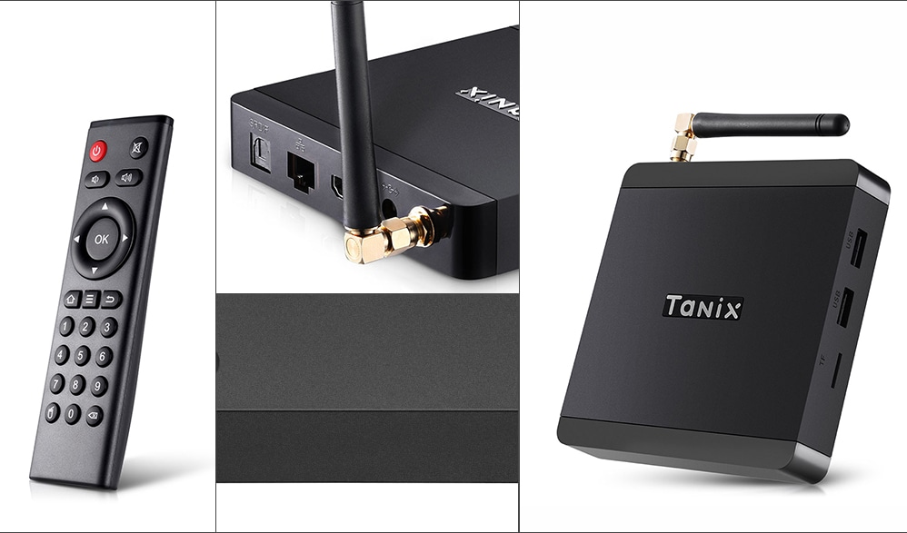 ТВ приставка Tanix TX5 Max Smart TV Box 4/32