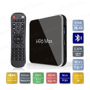 H96 Max X2 4/64 Гб Smart TV Box ТВ приставка