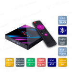 H96 MAX 4/64 Гб Android 10 Smart TV Box ТВ приставка