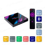 H96 MAX 2/16 Гб Android 10 Smart TV Box ТВ приставка