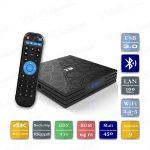 Alfawise T9 RK3318 4/64 Гб Smart TV Box ТВ приставка