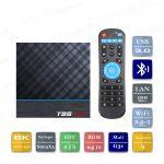 Vontar T95 Max+ 4/64 Гб Smart TV Box ТВ приставка