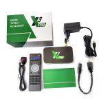 YouTV Максимальний на 12 місяців для п'яти пристроїв + Ugoos X3 Pro 4/32 Гб Smart TV Box ТВ приставка