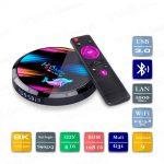H96 Max X3 4/128 Гб Smart TV Box ТВ приставка