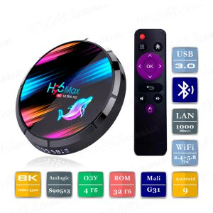 H96 Max X3 4/32 Гб Smart TV Box ТВ приставка
