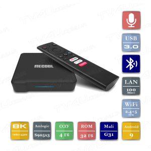 Mecool KM1 4/32 Гб Smart TV Box ТВ приставка