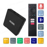 Mecool KM1 4/64 Гб Android TV 10 Smart TV Box ТВ приставка