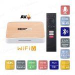 Mecool KM6 Deluxe 4/32 Гб Android TV 10 Smart TV Box ТВ приставка