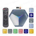 A95X F4 4/128 Гб Android 10 Smart TV Box ТВ приставка