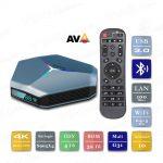 A95X F4 4/32 Гб Android 10 Smart TV Box ТВ приставка