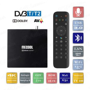 Mecool KT1 DVB-T2 2/16 Гб Smart TV Box ТВ приставка