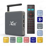 X96 X6 8/64 Гб Android 11 Smart TV Box ТВ приставка