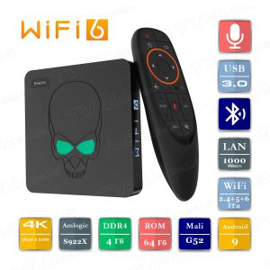 Beelink GT-King 2021 4/64 Гб WiFi 6 Smart TV Box ТВ приставка