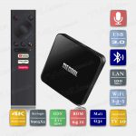 Mecool KM3 4/64 Гб Android TV 10 Smart TV Box ТВ приставка