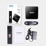 Mecool KM3 4/64 Гб Android TV 10 Smart TV Box ТВ приставка