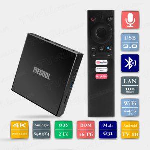 Mecool KM6 Classic 2/16 Гб Android TV 10 Smart TV Box ТВ приставка
