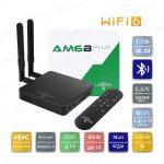 Ugoos AM6B Plus 2021 4/32 Гб WiFi 6 Smart TV Box ТВ приставка